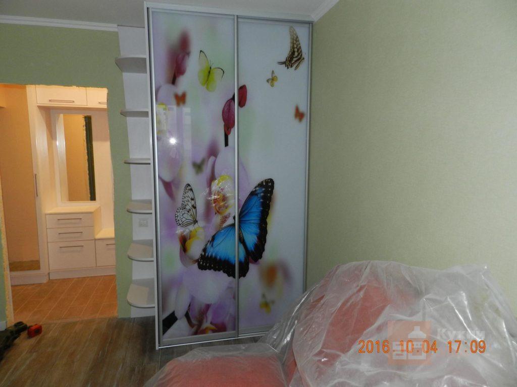 Шкаф-купе Бабочки