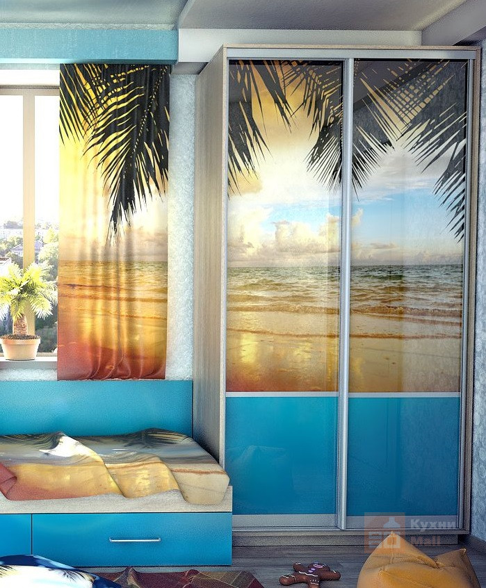 Шкаф-купе Пляж