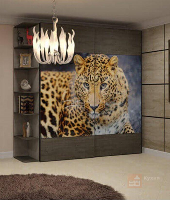 Шкаф-купе Леопард