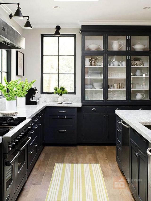 Кухня Черный кунжут