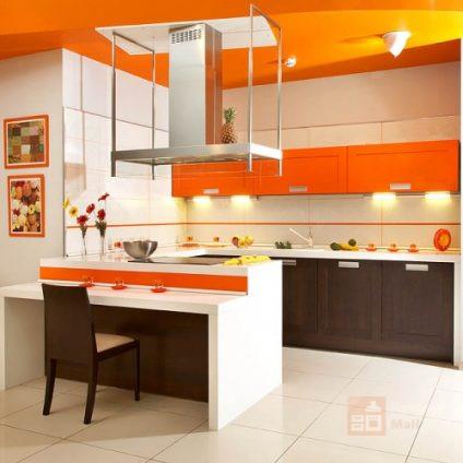 Кухня Оранжевое совершенство